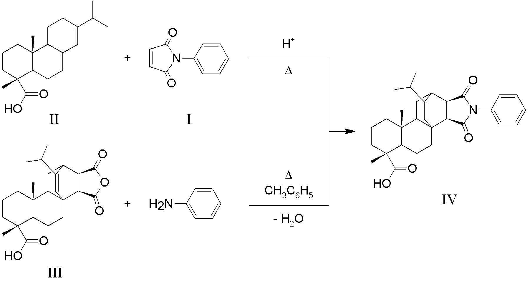 Получение N-фенилимида малеопимаровой кислоты